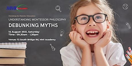 Understanding Montessori Philosophy & Debunking Common Myths tickets