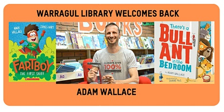 AUTHOR VISIT - Adam Wallace tickets