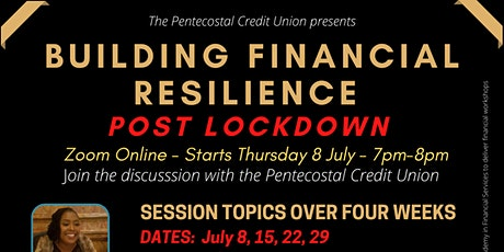 Building Financial Resilience Post Lockdown tickets