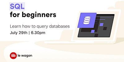 [Free workshop] Learn how to query databases with