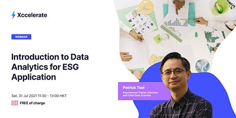 Introduction to Data Analytics for ESG Application ingressos