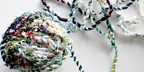 Making Twine from Fabric Scraps tickets