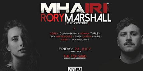 VIVE LA TECHNO Presents : MHA IRI[1605] + Rory Marshall[23RDCENTURY] tickets