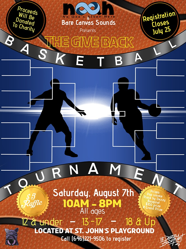 The Give Back (Charity Fundraiser Basketball Tournament) image
