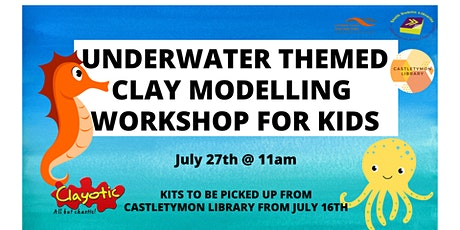 Underwater Themed Clay Modelling Workshop for Kids tickets