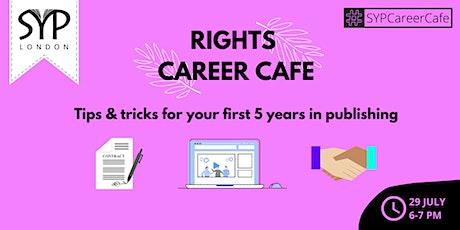 Career Café: Rights tickets