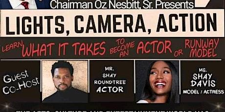 Lights, Camera, Action tickets