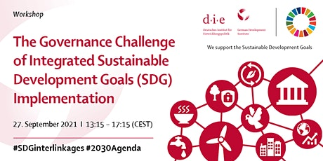 The Governance Challenge of Integrated SDG Implementation tickets