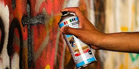 Junge Bühne: Graffiti-Workshop für Jugendliche mit Martin Jainz Tickets