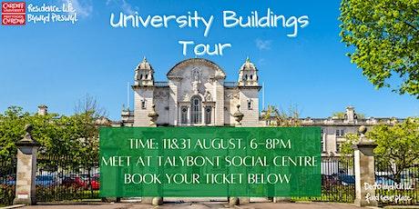 Cardiff University buildings tour tickets