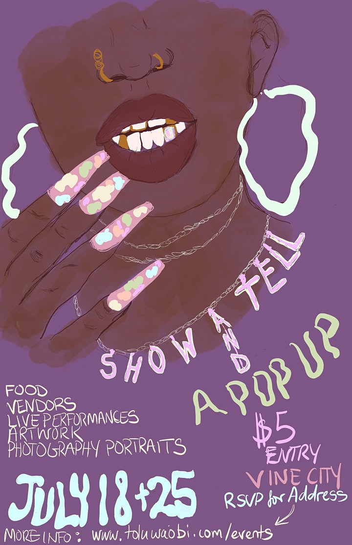 Show and Tell: Art Pop Up Shop image