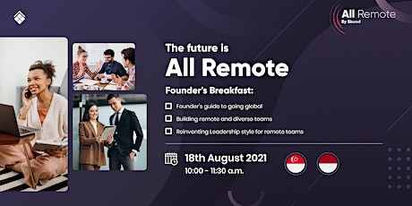 All Remote : Founder's Breakfast tickets