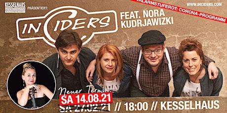 """""""20 Jahren Irish Folk"""" InCiders live  Special Guest: Nora Kudrjawizki Tickets"""