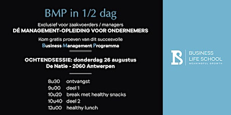 BMP in 1/2 dag tickets