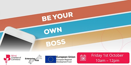 Enterprise Hub presents - Be your own boss for first time start ups tickets