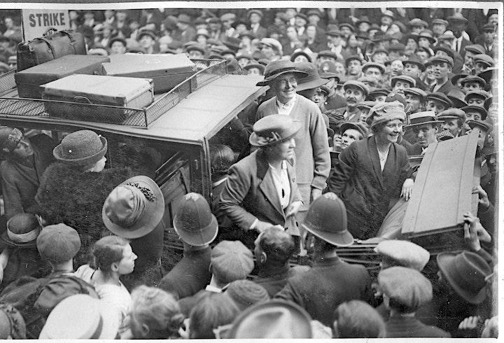 Imprisonment! Poplar Council in Prison 1921 image
