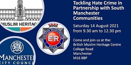 Tackling Hate Crime in Partnership with South Manchester Communities tickets