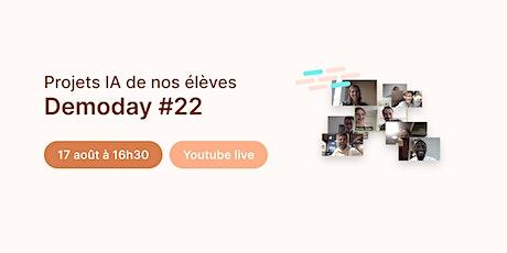Data Demoday #22 - Jedha Bootcamp | Campus Lyon billets
