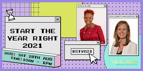 Start The Year Right '21: A Back-to-School Event for Parents & Young People tickets