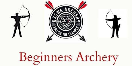 Sacred Archery -   BEGINNERS CLASS OSSWA Archery tickets
