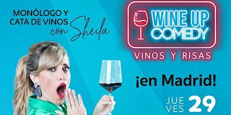 RISAS Y VINOS - Monologo + vinos (Wineup Comedy en Madrid) tickets