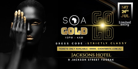 SOA GOLD CLASS PARTY tickets