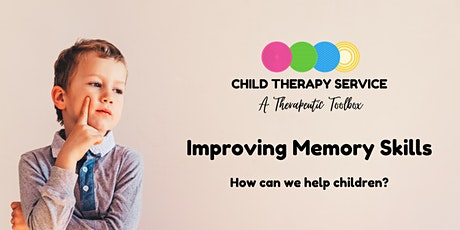 Improving Executive Function - Memory tickets