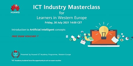 Industry Masterclass in AI  for Learners in Western Europe biglietti