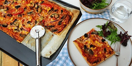 Kids baking class: Pizza party tickets