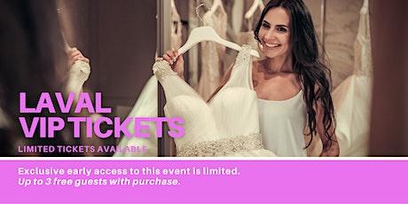Laval Pop Up Wedding Dress Sale VIP Early Access billets