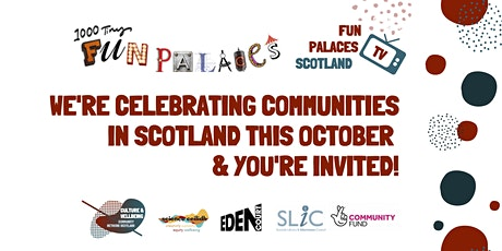 Fun Palaces Scotland Planning Workshops tickets