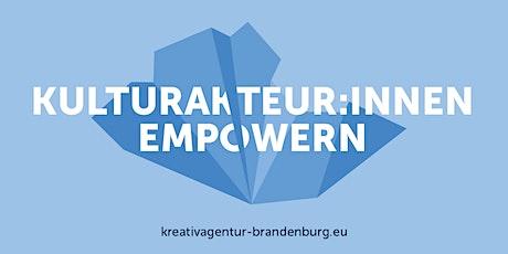 Beratung für Kreative aus Brandenburg Tickets
