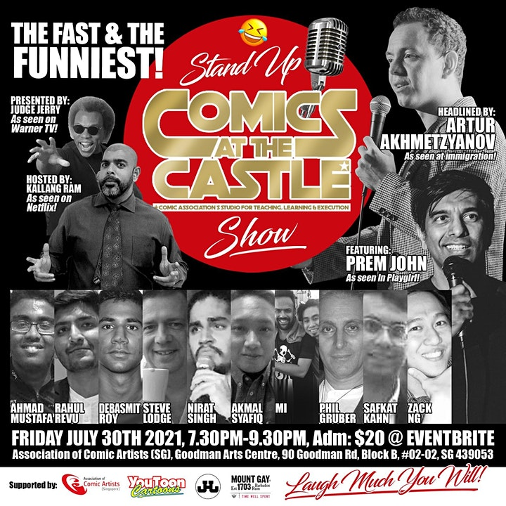 Stand Up COMICS At The CASTLE Show image