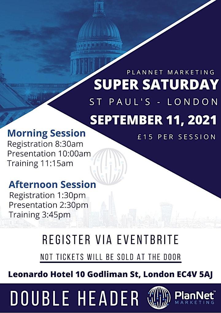 PlanNet Marketing London Super Saturday image