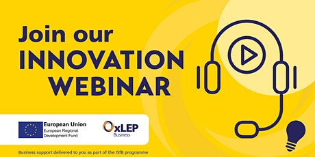 Winning Innovation Funding – Improving your Chances of Success tickets