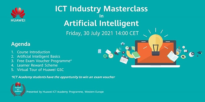Industry Masterclass in AI  for Learners in Western Europe image