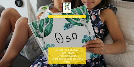 Children book presentation tickets