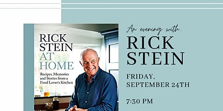 An evening with Rick Stein tickets