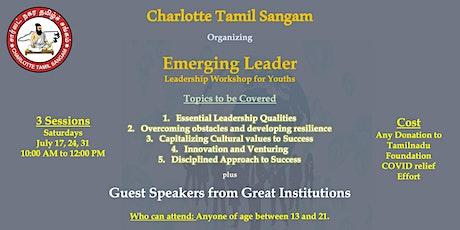 Emerging Leader - Youth Leadership Workshop tickets