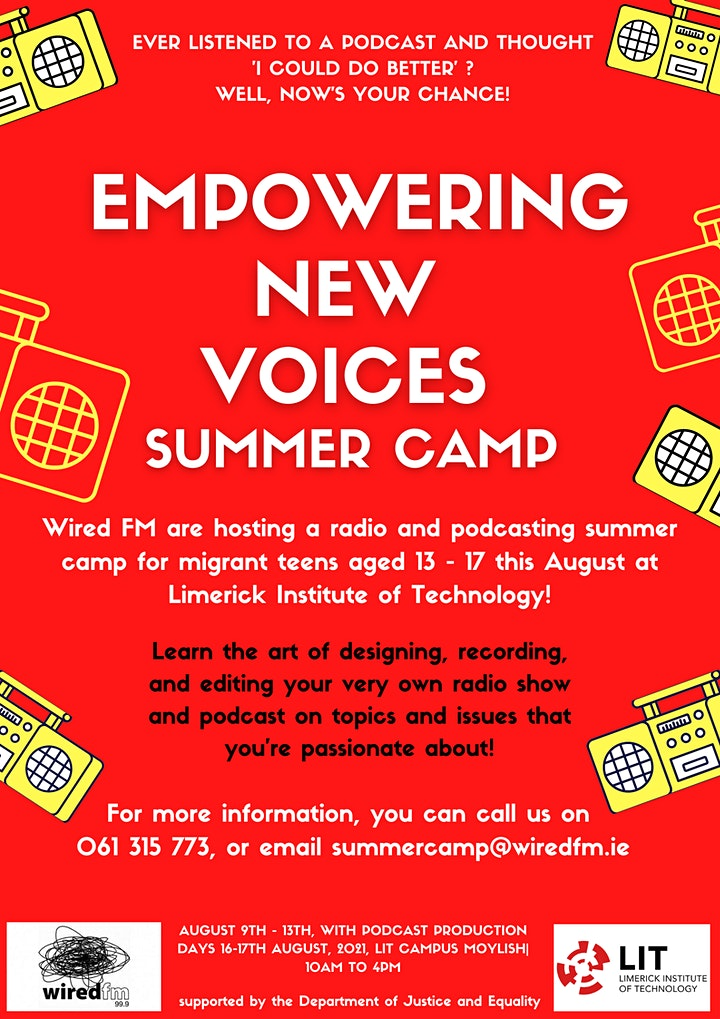 Radio Summer Camp for Teens - Empowering New Voices image