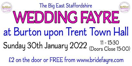 The Big East Staffordshire Wedding Fayre tickets