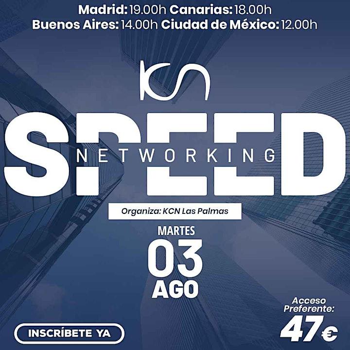 Imagen de KCN Las Palmas Speed Networkling Online 3 Ago