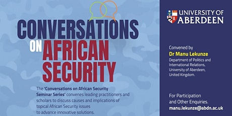 Political order as an essential ingredient of security in Nigeria tickets