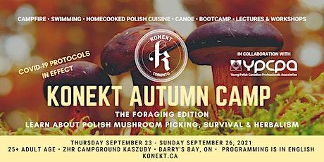 Konekt Autumn Camp 2021: The Foraging Edition tickets