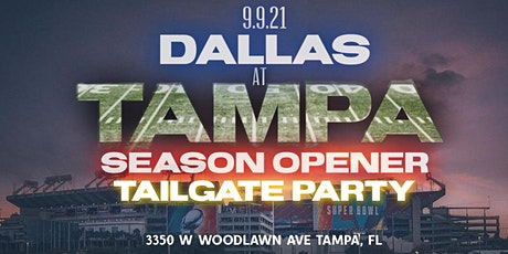 DALLAS VS TAMPA TAILGATE PARTY tickets