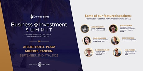 CannabiSalud Business & Investment Summit boletos