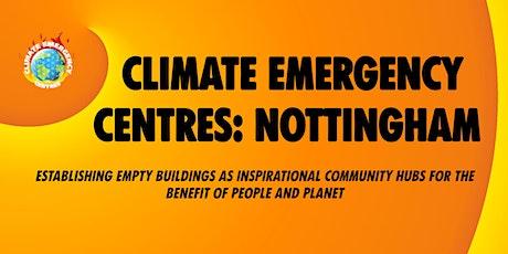 Building Nottingham Climate Emergency Centre tickets