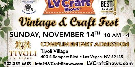Vintage & Craft Fest tickets