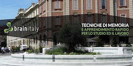 Acqui Terme: Corso gratuito di memoria biglietti
