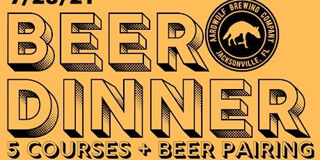 Aardwolf & Chancho Beer Dinner #3 tickets